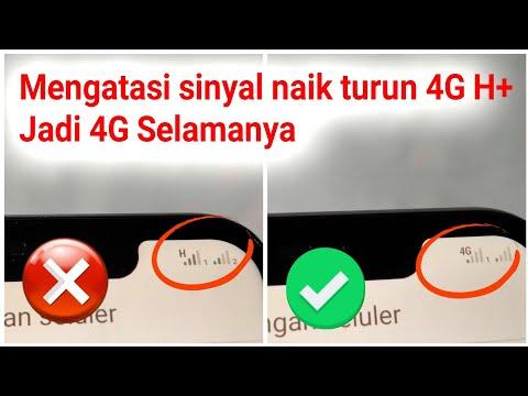Mengatasi Jaringan H+ Menjadi 4G Selamanya Tanpa Root - Sinyal Jadi Stabil