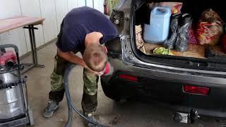 30 МИНУТ на РЕМОНТ помятого БАМПЕРА /  ремонт пластиковых бамперов