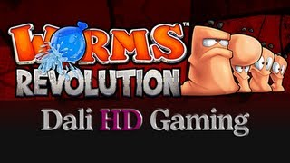 Worms Revolution PC Gameplay HD 1440p