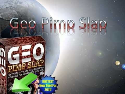 ip address lookupsoftware  with Geo Pimp Slap - Geotargeting Software