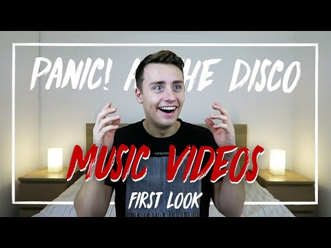 Watching PANIC! AT THE DISCO Music Videos for the FIRST TIME | Reaction