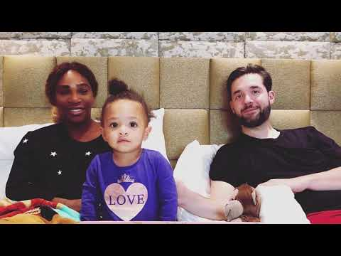 Serena Williams & Alexis Ohanian's Daughter Alexis Olympia Playing Football – Serena Williams Family