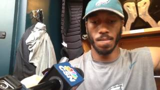 Eagles wide reveiver Rueben Randle discusses gullbladder surgery recovery, role on offense