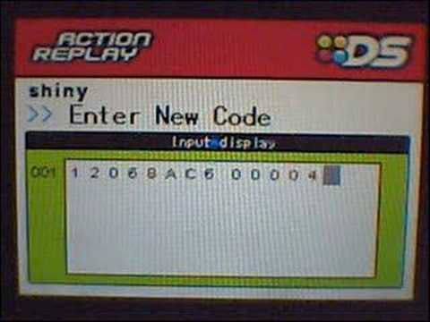 How To Manually Add Codes To Your Action Replay DS