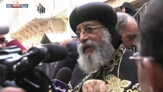 البابا تواضروس يترأس القداس على روح الأنبا أبراهام