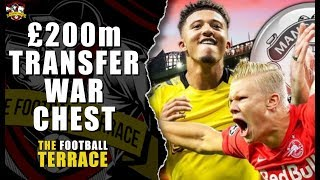 Manchester United Jadon Sancho & Haaland in Janaury for £200m? How will Manchester United Line-Up?