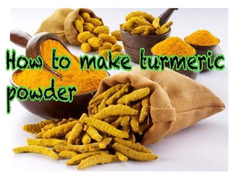 2. How to make turmeric powder speak khmer|Tutorial