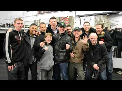 Peter Welch & Friends Excited After The Fighters Premiere