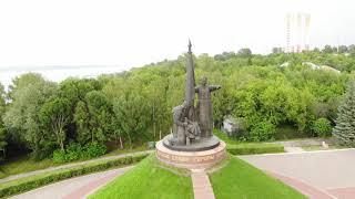 Монумент в честь воинов – чебоксарцев, погибших в Великой Отечественной войне 1941-1945 гг