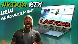 NVIDIA CES 2019 RTX GAMING LAPTOPS ANNOUNCEMENT! NEXT GENERATION OF LAPTOPS AND GRAPHICS ARE HERE!!!