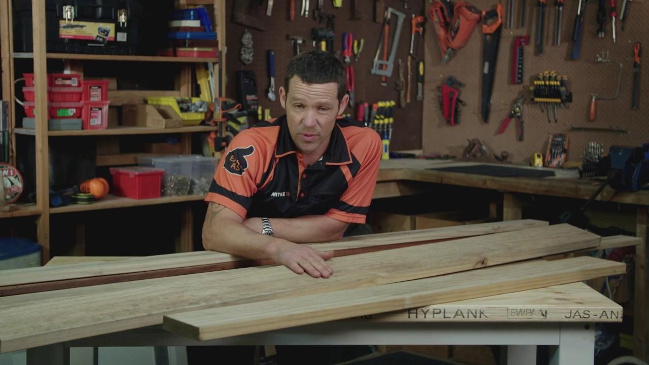 Choosing Decking Timber