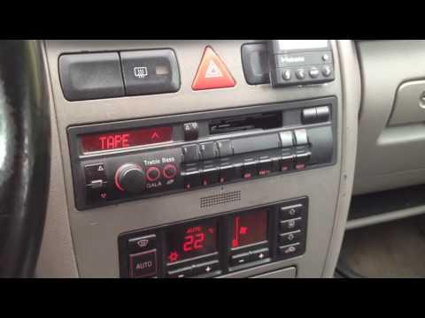 Compact cassette car audio player