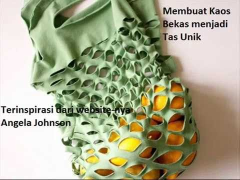Daur Ulang Kaos Bekas jadi Tas Unik song by Ungu I Need You - YouTube 65e504d0c3