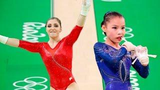 #The201720Winner ● Aliya Mustafina vs. Shang Chunsong
