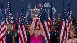 50 for 50: Stan Wawrinka, 2016 US Open Tennis Men's Singles Champion