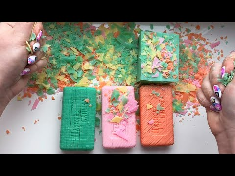 Soap Carving ASMR ! Relaxing Sounds ! (no Talking) Satisfying ASMR Video #37