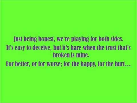 Everybody Lies- Jason Walker (Lyrics and Audio)