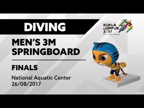 KL2017 Diving - Men's 3m Springboard FINALS | 26/08/2017