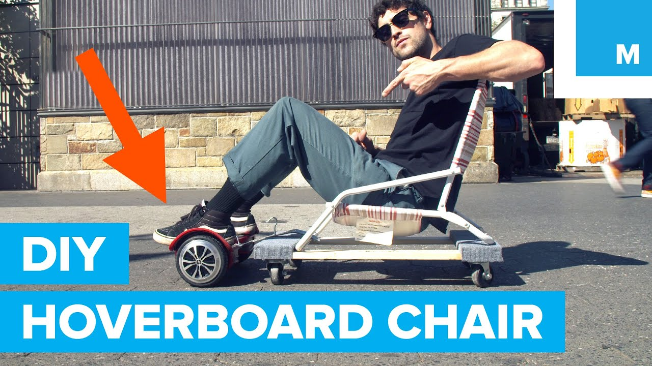 Building a DIY Hoverboard Chair for Under $50
