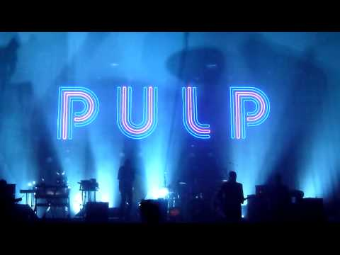 Pulp live @ The Warfield , SF - April 16, 2012