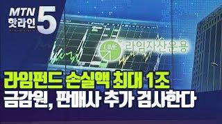 라임펀드 손실액 최대 1조…금감원, 판매사 추가 검사한…