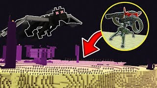 1,000 MINECRAFT SENTRY GUNS vs THE ENDER DRAGON!!