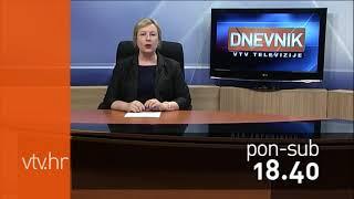 VTV Dnevnik najava 14. kolovoza 2017.