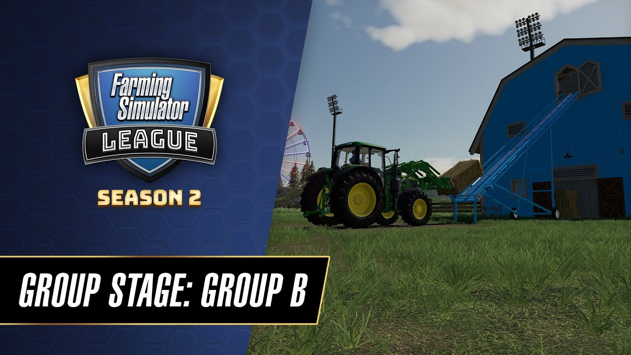 Farming Simulator League World Championship 2020 Group Stage | Group B