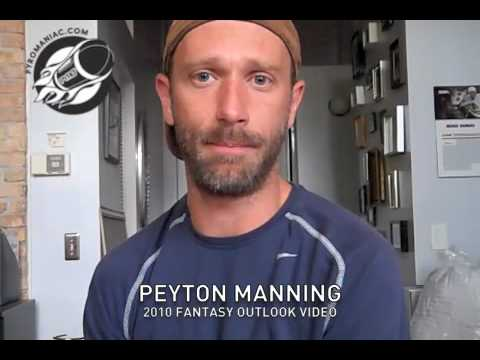 Peyton Manning - 2010 Fantasy Outlook Video