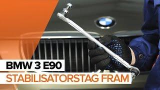 Byta Krängningshämmarstag on BMW 3 SERIES: verkstadshandbok