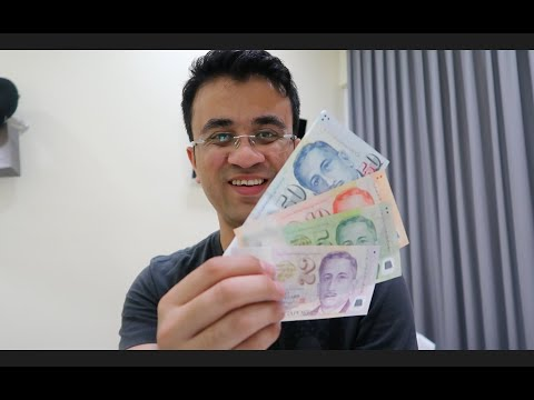 Singapore Dollar Money And Currency Travel Vlog In Hindi - All About Singapore Money Exchange