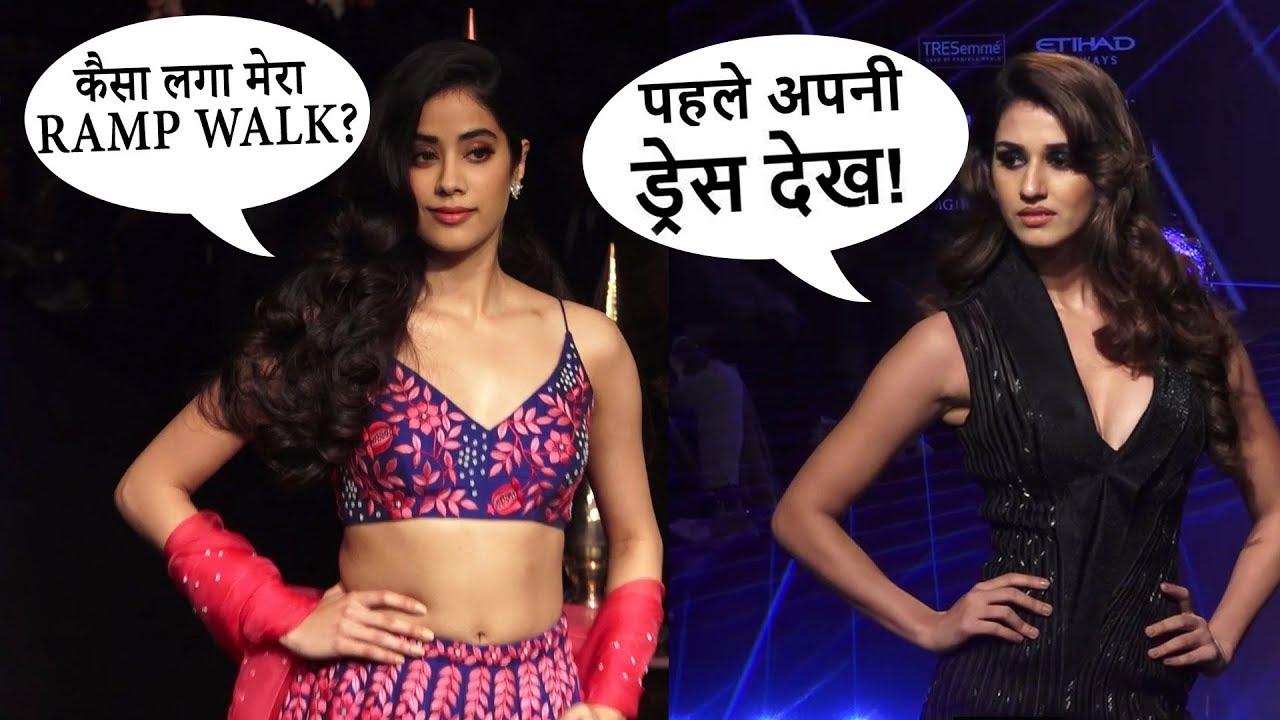 Lakme Fashion Week 2018 : Janhvi Kapoor, Shahid Kapoor, Huma