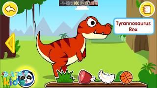 Dinosaur planet | Trò chơi khủng long bạo chúa  baby panda