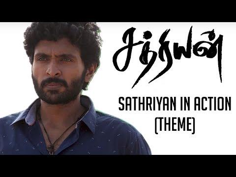 Sathriyan in Action (Theme) | Sathriyan | Yuvan Shankar Raja | Vikram Prabhu, Manjima Mohan