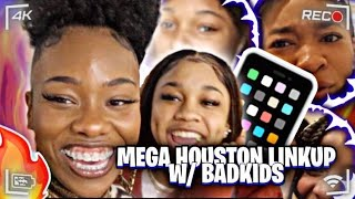 HOUSTON TEXAS LINK UP| Magic and Aaliyah's first time meeting in person