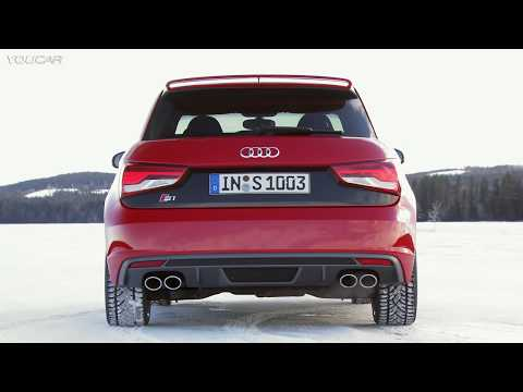 NEW Audi S1 ► Awesome Test Drive on Snow