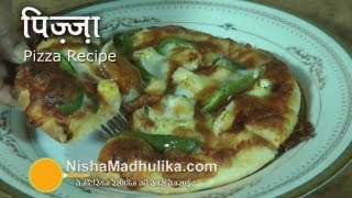 Homemade Pizza Recipe Video | Vegetable Cheese Pizza Recipe