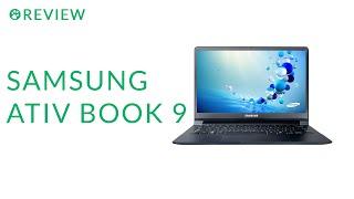 видео Мини обзор ноутбука Samsung Ativ Book 9 Plus