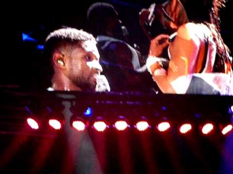 Usher Concert Perth 15/3/11 - Trading Places with Courtney  part 3
