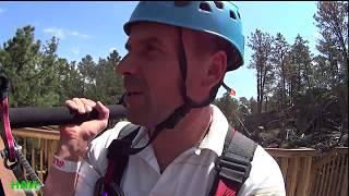 204. SD | Видео после перерыва... Полеты над горами и лесами