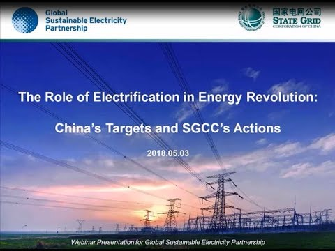 GSEP webinar: China and the global energy revolution