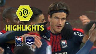 SM Caen - Girondins de Bordeaux (1-0) - Highlights - (SMC - GdB) / 2017-18