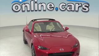 A97692TA Used 2017 Mazda Miata RF Grand Touring 2D Coupe Red Test Drive, Review, For Sale