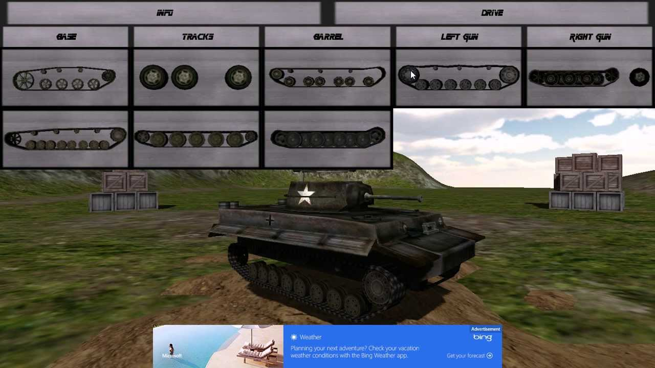 Windows 8 tank builder free youtube for Build a building online free