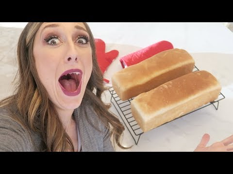How To Bake Bread! EASIEST Bread Recipe Ever! (Fail Proof!)