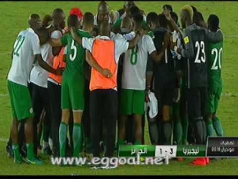 اهداف مباراة الجزائر ونيجيريا 1-3   الاهداف كاملة   12-11-2016