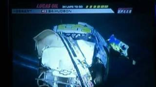 Chad Hackenbracht ARCA flip at Daytona 2011