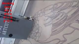 blade & pen cutting plotter machine.mp4