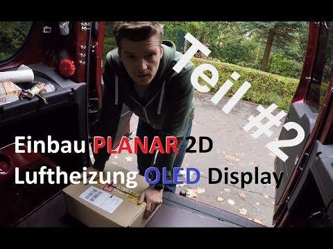 Standheizung Einbau Planar Air 2D Luftheizung Teil 2 Einbau Mit Webasto T91 Fernbedienung Telestart