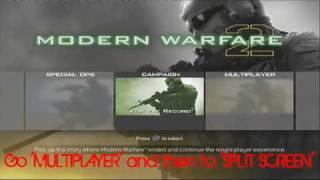 Modern Warfare 2 Unlock Everything Hack Glitch
